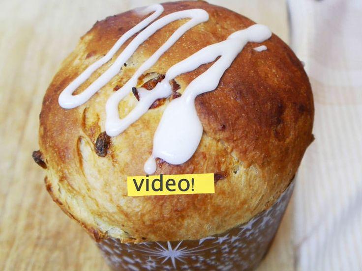 Panettone (pan dulce navideño) en 4 pasos sencillos