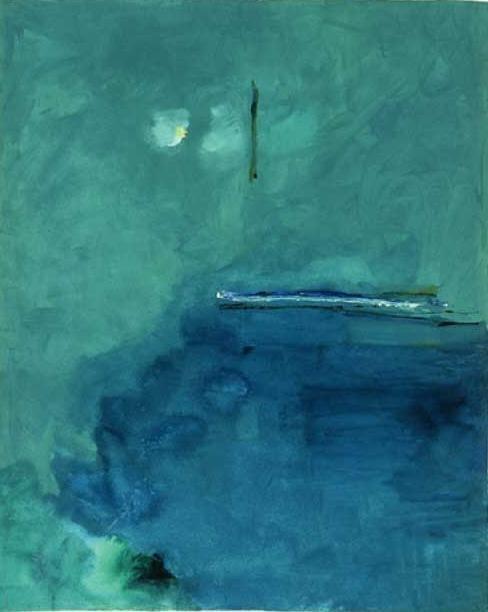 Contentment Island   2002            Helen Frankinthaler