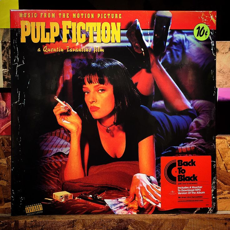 Found this beauty today! Pulp Fiction soundtrack on vinyl. #vinylcollector #vinyl #music