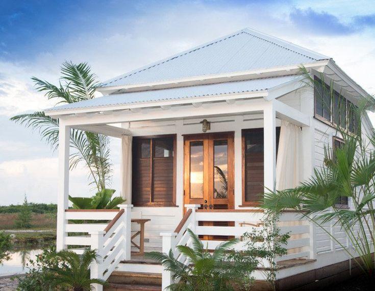 Tiny Beach Home Designs: Small House Entrance Design Entry Beach Style With Dark