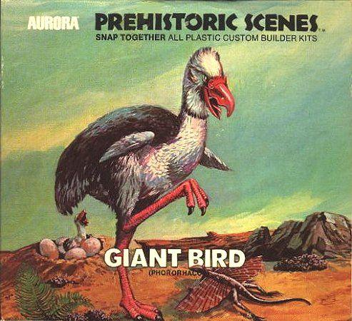 Giant Bird  Aurora Prehistoric Scenes