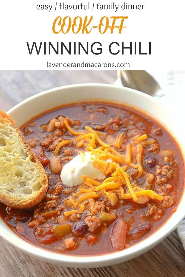 Best Award Winning Chili Recipe