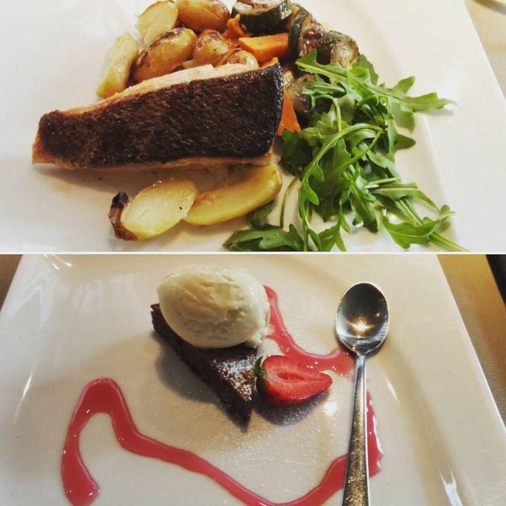 Tiimipalaveri tänään Comon lounaan äärellä #tiimi #lounas #omnomnom #työjuttuja #ristorantecomo #tampere