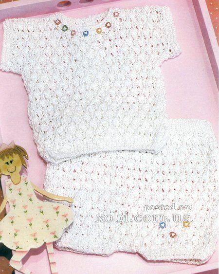 летний комплект для малыша: футболка и шорты