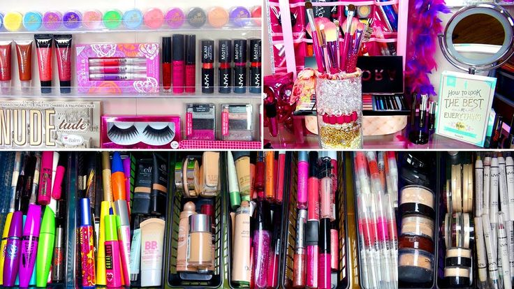 ♡ My Makeup Collection | By: GlitterForever17 ♡