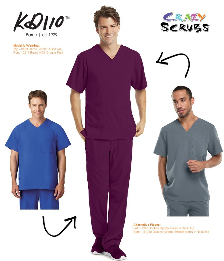 Today's Outfit of the Day features #KD110 Men's Scrubs by Barco Uniforms! #SustainableFashion #LoveWhatYouWear