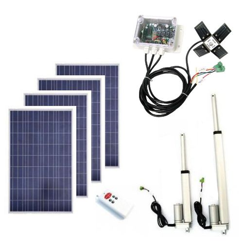 Eco Worthy 400w Complete Solar Tracking System Dual Axis Solar Tracker Diy Solar Power System Solar Power Diy Solar Tracker