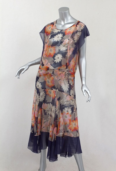 1920s Clothing at Vintage Textile: #2591 flapper dress