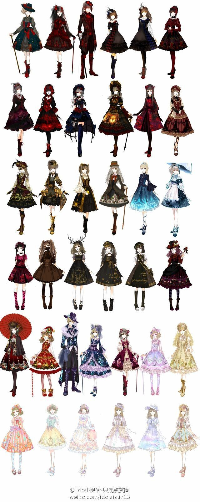 I 39 m not a huge lolita fan but some of these are gorgeous anime pinterest Fashion and style by vanja m facebook
