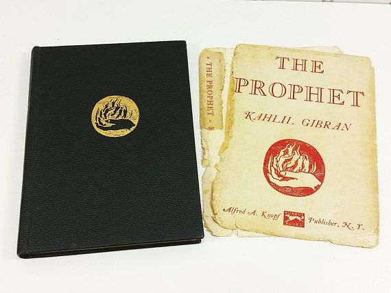 The Prophet by Kahlil Gibran, a 1957 Pocket Edition from Alfred A Knopf  offered by #naturegirl22 on Etsy