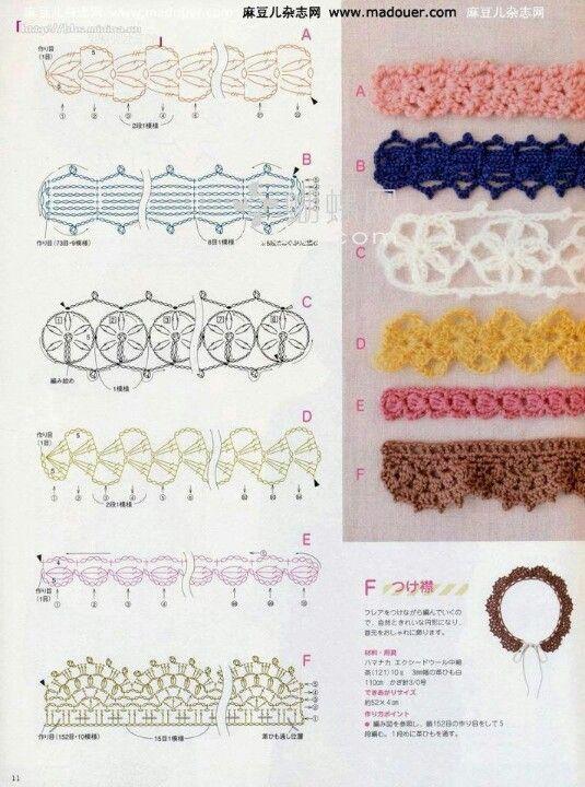 crocheted edge/trim                                                                                                                                                                                 More