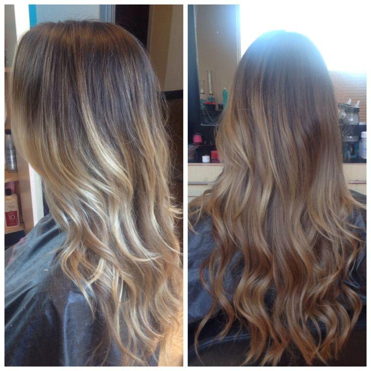 @Malisa957 #balayage #highlights #bronde #hairpainting #brunette #darkblonde