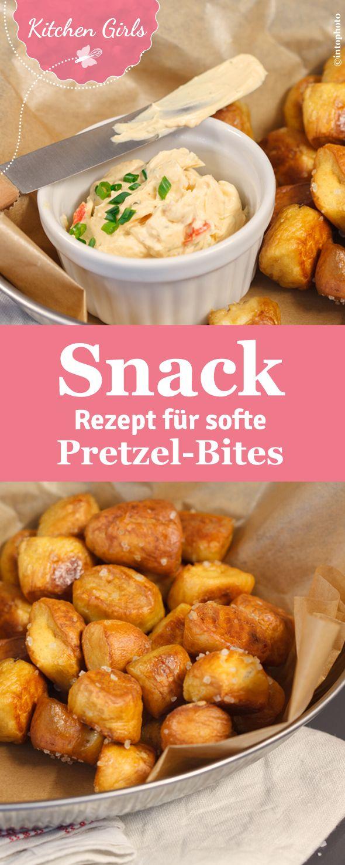 Pretzel-Bites ist ein leckerer Snack aus Laugengebäck. Wir verraten, wie ihr softe Bites selber machen könnt.