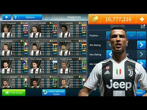 How To Hack Juventus Team 2018 19 All Players 100 Dream League Soccer 2020 New Update Youtube In 2020 Juventus Team Juventus Real Madrid Team