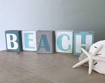 Nautical Theme Decor Beach Signs Decor Coastal Bedrooms