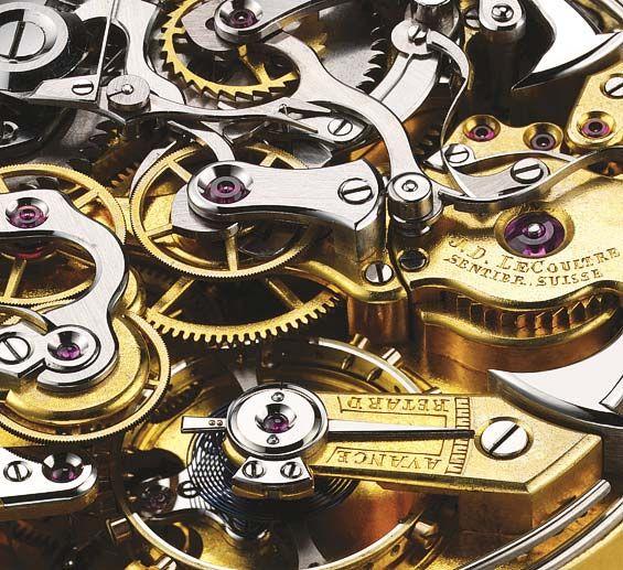 Mechanism - LeCoultre, Swiss