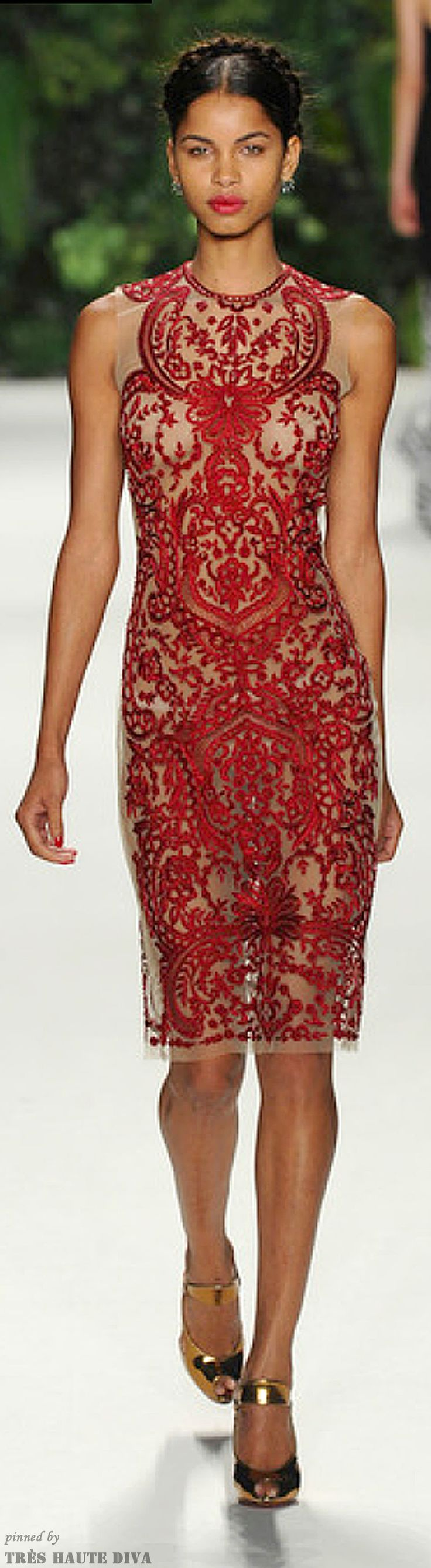 NYFW Naeem Khan Spring 2014  http://www.nytimes.com/fashion