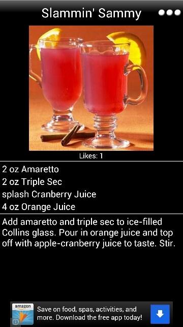 #bartender recipe, #Riverside-Bartending-School (www.riversidebartendingschool.com)