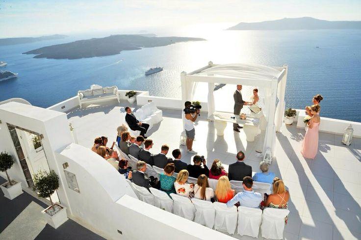 Santorini wedding danas villas