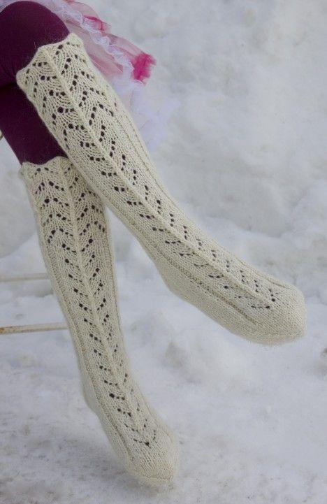 Pitsilliset villasukat