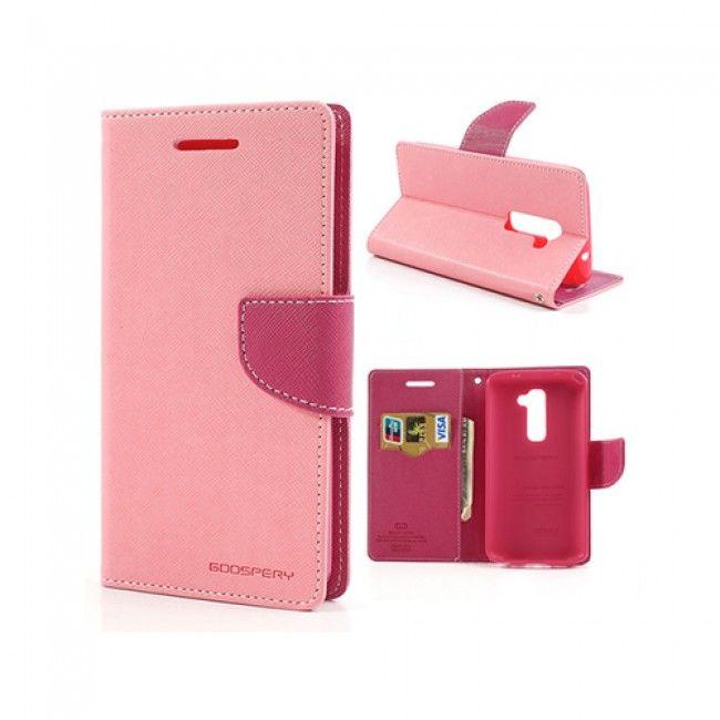 Freestyle (Pinkki) LG G2 Flip Case Nahkakotelo - http://lux-case.fi/freestyle-pinkki-lg-optimus-g2-nahkakotelo-22365.html