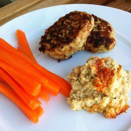 LCHF-HVERDAG: LCHF-kyllingefrikadeller med avokado og parmesan