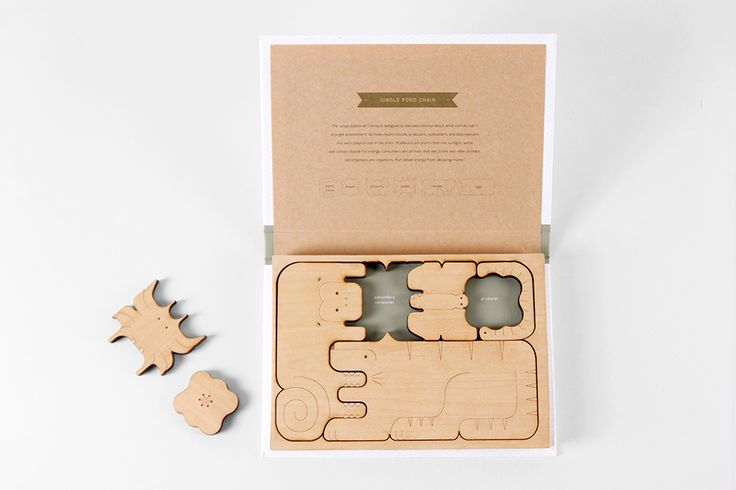 CHOMP - Food Chain Puzzle Books — The Dieline | Packaging & Branding Design & Innovation News
