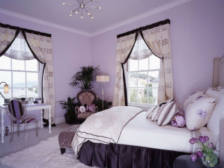 Review Bedroom Colors Purple Inspirations