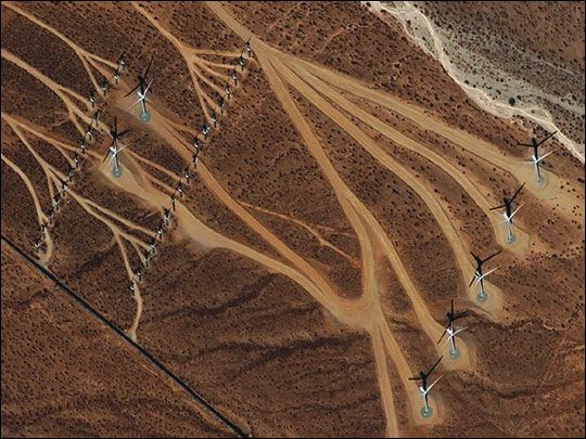 Wind Farm in San Gorgonio Pass