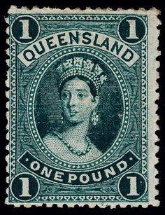 Queensland 1886 Queen Victoria