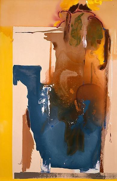 Helen Frankenthaler (1928~2011), Pioneering Abstract Painter