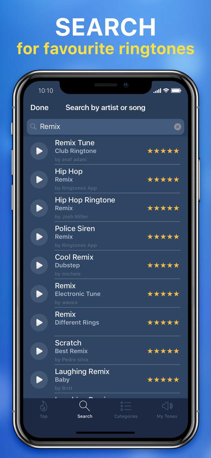 Ringtones for iPhone! iosappsappMusic Ringtones for