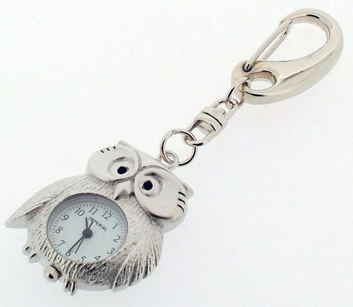 Wise Owl Novelty Miniature Clock Keyring    eBay