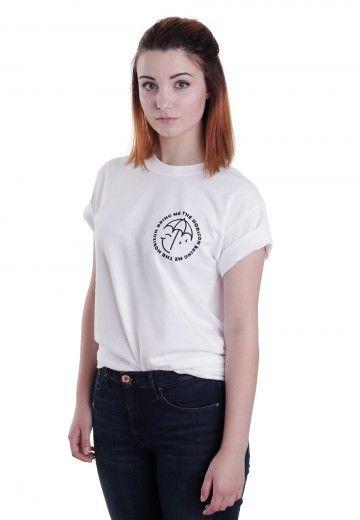 Bring Me The Horizon - Happy and Sad Umbrella White - T-Shirt - Offizieller Rock Merchandise Online Shop - Impericon.com