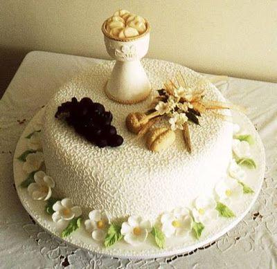 Pasteles y tortas para toda Celebración: Tortas para Primera Comunión
