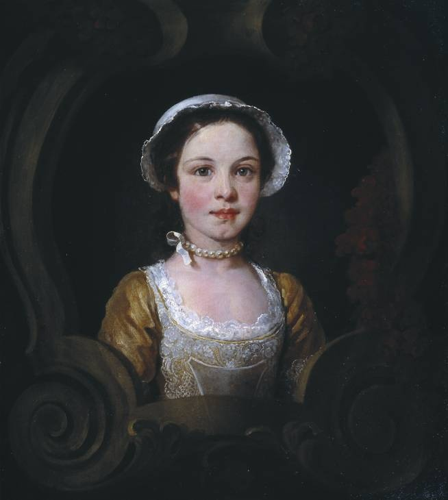 """Hannah, Daughter of John Ranby Snr"", William Hogarth, ca. 1749; Tate Collection T07122"