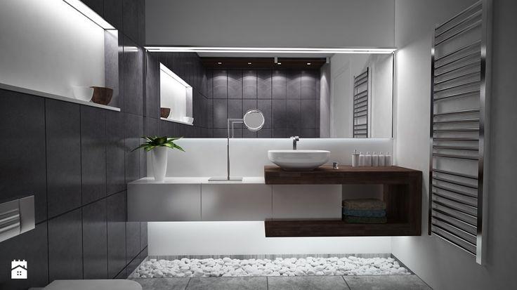 Średnia łazienka, styl nowoczesny - zdjęcie od Zibi_C