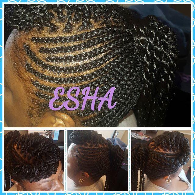 Top 100 senegalese twist styles photos #cornrowstyle #senegalesetwiststyles #senegalesetwists #braids #cornrows #kanekalon #hair #ponytail #blackhair #natural #boxbraids #eshweshair #rootedbeautypro  See more http://wumann.com/top-100-senegalese-twist-styles-photos/