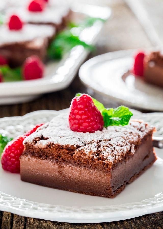 Nutella Magic Cake - fluffy and easy to do :o)