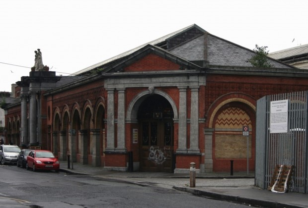 Probably one of my favourite old Dublin buildings. Whenever i pass I have to crane my neck around to get as good a look as possible! Dublin Corporation Wholesale Markets, Mary's Lane, Dublin 7