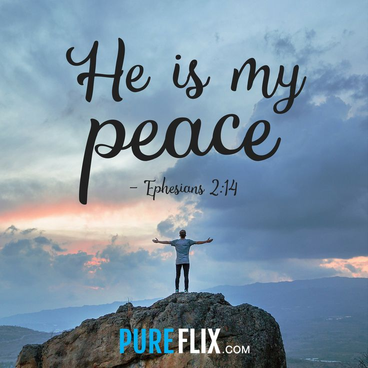 'Like' this post if God is your source of peace! #VerseOfTheDay