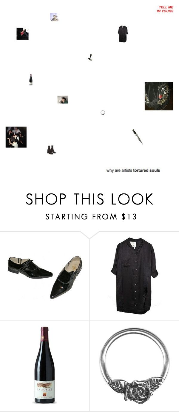 """i think i am the only one breathing on this planet tonight"" by monastic ❤ liked on Polyvore featuring CO and Retrò"