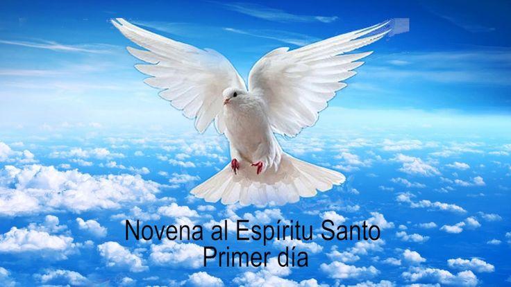 Novena al Espíritu Santo. Día primero. (Novena de Pentecostes)