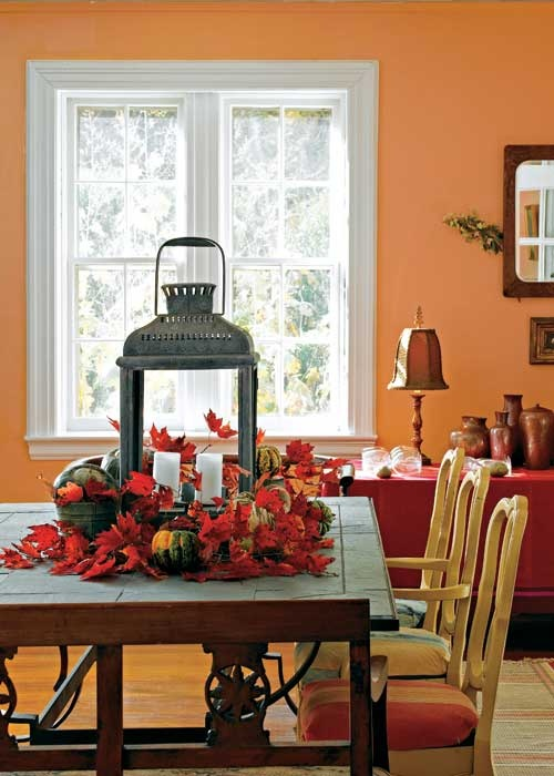 36 best dining table centerpiece images on pinterest for Country dining room color ideas
