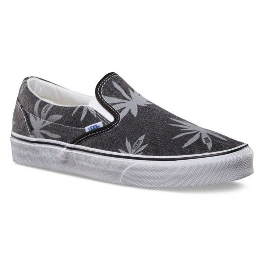 VANS Classic Slip-On Van Doren palm black chaussures sans lacet 69,00 € #vans #vansotw #vansoffthewall #vansclassics #vansclassic #skate #skateboard #skateboarding #streetshop #skateshop @playskateshop