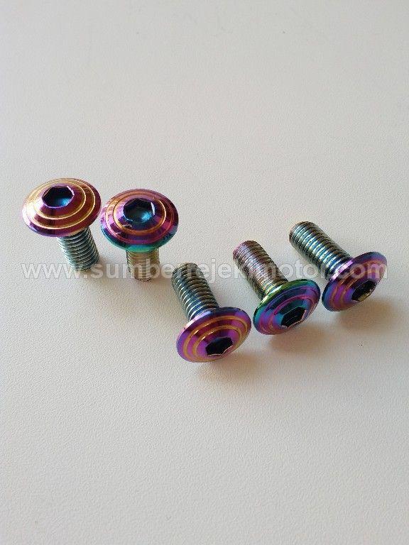 Baut Piring Cakram Rainbow