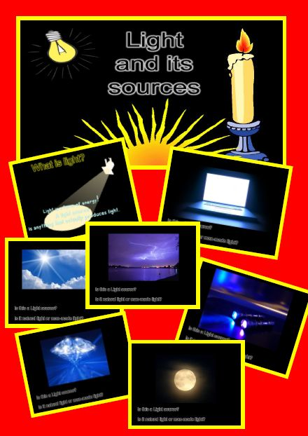 Suitable for Australian Curriculum codes Grade 1 ACSSU020, Grade 5 ACSSU080  This is a great 20 page pdf that can be used as a powerpoint on your whiteboard to entice discussions about light and its sources. It always amazes me the misconceptions children have about light.  The slides cover:  What is light?  Several slides with a picture for children to decide if it is a light source or not and if the light source is natural or man-made.?  A slide to define what a light source is and a…