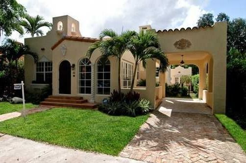 spanish revival homes coral gables fla - Google Search