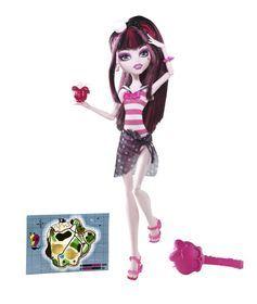 Mattel, Monster High, Upiorni Plażowicze, Draculaura, lalka