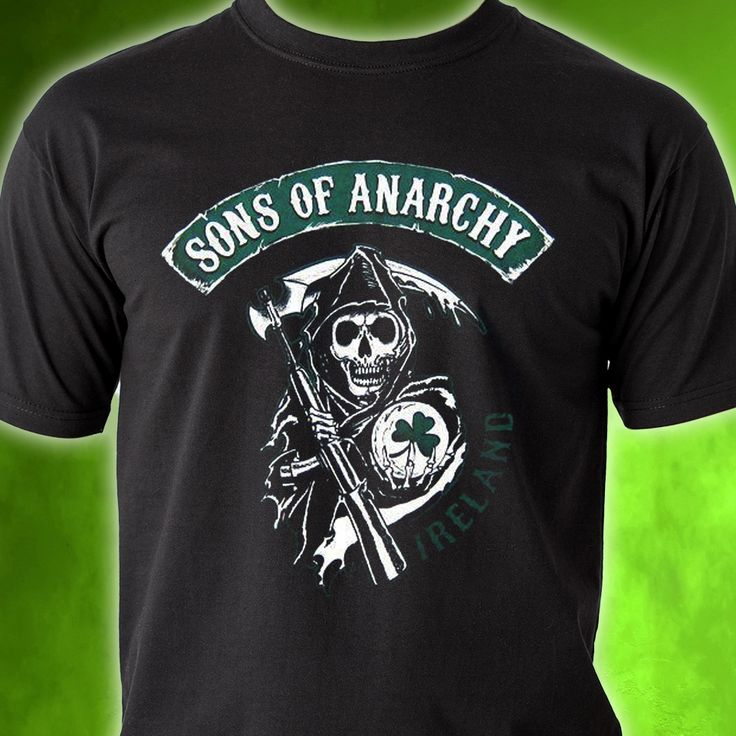 Back by popular demand! Sons of Anarchy Ireland T-shirt. Get yours in time for St. Patrick's Day. Click here to SHOP >> http://store.bikerornot.com/sons-of-anarchy-ireland/
